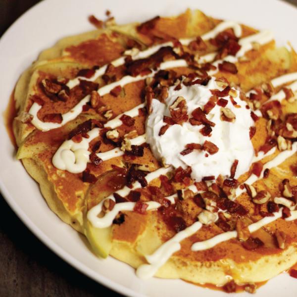 Caramel Apple Pancake