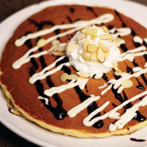 Blackberry Almond Pancake